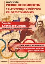 IES Castelao - Conferencia sobre Pierre de Couobertin