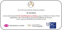 Invitación II Día Olimpismo Gallego
