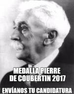 Medalla Pierre de Coubertin Galicia