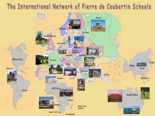 Red de Escuelas Coubertin 2014