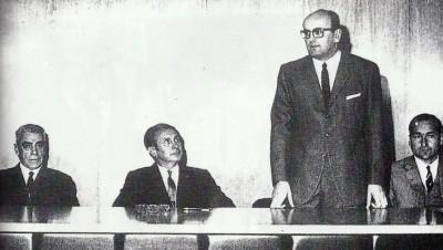 Conrado Durántez en la I Sesión AOE