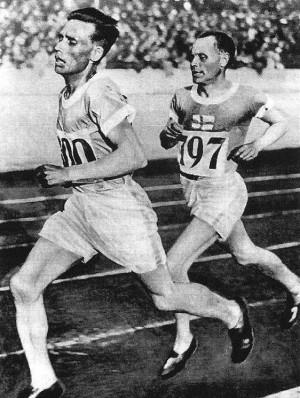 Paavo Nurmi y Ville Ritola