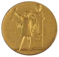 Medallas Estocolmo 1912