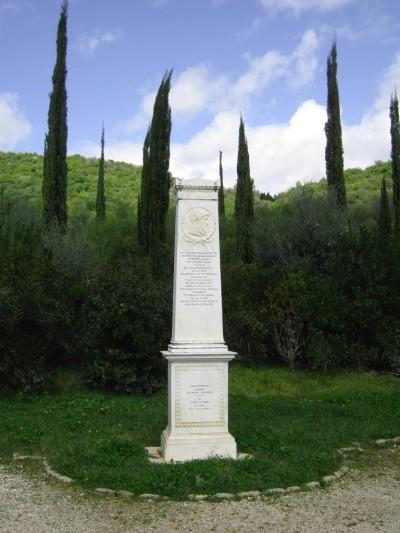 Pierre De Coubertin estela